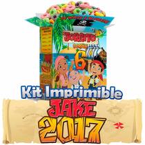 Jake Y Los Piratas Nunca Jamas 2015 Mega Kit Imprimible 4x2