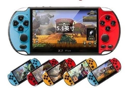 Consola Retro X7 Plus Juegos Cámara  Portátil 8gb Recargable