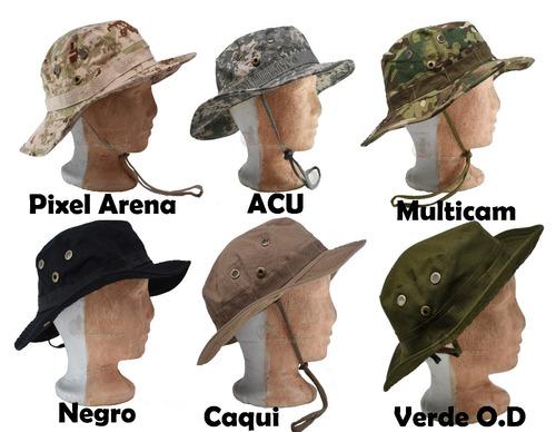 Sombrero Militar Bonnie Hat Junglero Gorra Camuflejado 299d69271c5
