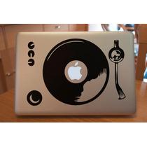 Macbook Mac Laptop Stickers Dj Vinil