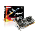 Tarjeta Gráfica Nvidia Msi Geforce 200 Series N210 N210-md1g/d3 1gb