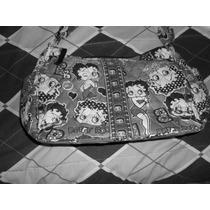 Bonita Bolsa De Betty Boop Tipo Comic Como Nueva