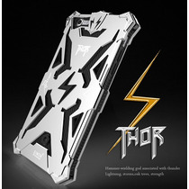 Hybrid Thor Bumper Metálico Para Iphone 6 6s Plus-plata