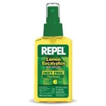 Repelen Limón Eucalipto Repelente De Insectos Spray 4 Oz
