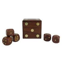 Juego Dados Caja Con Cinco Dados Set