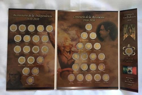 Colección 39 Monedas De 5 Independencia Y Revolución C/ Esp