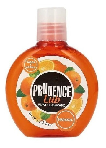 Lubricante Comestible De Sabor Prudence Lub, 75 Ml Base Agua