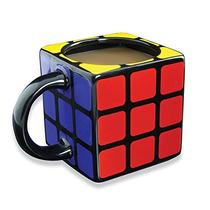 Taza Rubiks Cubo 3d Coleccionable De Ceramica
