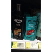 Kit Aceite Bronceador Y Gel Refrescante Hawaian Tropic