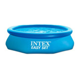 Alberca Con Aro Inflable Octagonal Easy Set 10 X30  Intex
