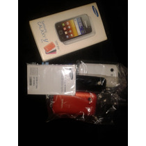 3 Tapas Traseras Samsung Galaxy Young Y + Caja + Manuales
