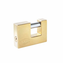 Candado Para Cortina De Latón Llave Bancaria 40mm Lock