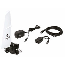 Antena Hdtv Recepcion De 90° Tv Hd Digital Voltech 48165