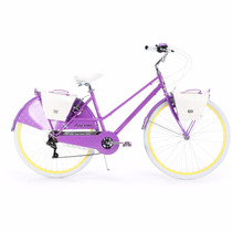 Bicicleta Mujer 26 700c Huffy Supreme Purple