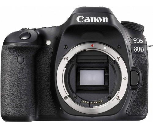 Canon Eos 80d Dslr Color Negro