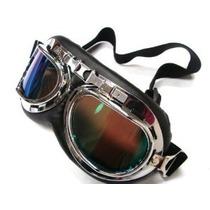 Wwii Raf Vintage Piloto Motociclista Crucero Goggles