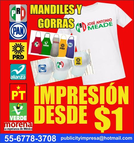 Playeras Para Campañas Politicas E Impresion 7ae2d3bf7ba