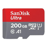 Tarjeta De Memoria Sandisk Sdsquar-200g Sdsquar-200g-gn6ma Ultra 200gb