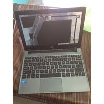 Carcasa Laptop Acer C710 Jalando Tarjeta Madre