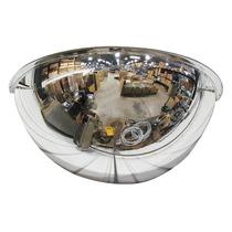 Espejo De Medio Domo 36 Policarbonato Plástico Abs 180°