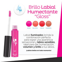 Brillo Labial Humectante Gloss Shelo Nabel