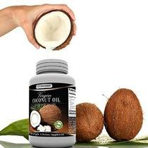 # 1 Aceite De Coco Virgen Cápsulas Suplemento Hecho En Ee.uu
