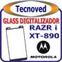 Glass Cristal Celular Mototorola Xt890 Instalacion Incluida