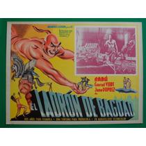 El Ladron De Bagdad Sabu Conrad Veidt Orig Cartel De Cine 6