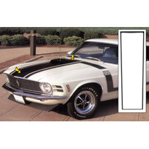 Mustang Boss 70 Plantilla Etiqueta Pintura Cofre