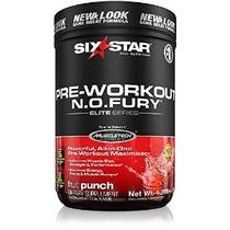 Six Star Pro Nutrition Elite Series Óxido Nítrico Furia 1,2