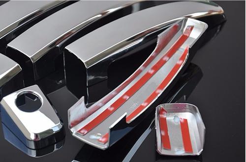 Cubre Manijas 4 Pts Chevrolet Cruze Trax Sonic Captiva Cromo Foto 6