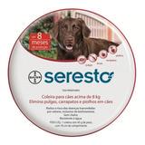 Bayer Seresto Collar Antipulgas Para Perros Mayores De 8kg