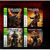 Gears Of War 1,2,3,judment Xbox 360, One
