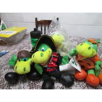Muñecos Guiñol Otíteres De Danonino Con Diferentes Disfraces