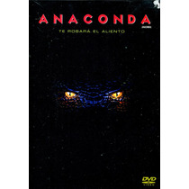 Dvd Anaconda ( Anaconda ) 1997 - Luis Llosa / Jennifer Lopez