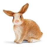 Figura Conejo Escala Juguete Coleccion Coleccionable Animal