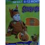 Disfraz Bebe Scooby Doo Talla 6-12 Meses