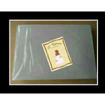 Hojas Comestibles Doble Carta (oblea)