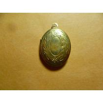 Antigua Medalla Para Poner Fotos En El Interior.chapa Oro