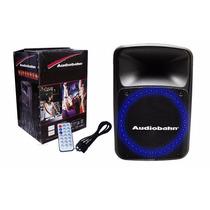 Bafle 15 Activo 550w Rms Hiper Leds Audioritmicos Internos