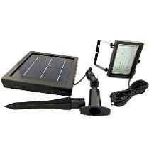 Lampara Luminario 60 Leds Solar Reflector Y Fotocelda Jardin