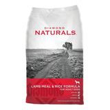 Alimento Diamond Naturals Adult Dog Perro Adulto Cordero/arroz 9kg
