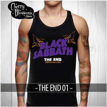 Playera Black Sabbath The End Mexico Tank Top Sin Mangas