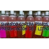 Shampoo Mata Piojos Con Extractos Naturales.