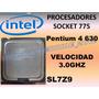 Procesador Intel Pentium 4 Ht 630 A 3.0ghz Sl7z9 Socket 775