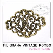 25 Filigranas Vintage Rombo Para Decorar Invitaciones