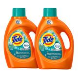 2pack Tide Detergente Bootanical Rain, 59 Cargas 2.72l