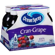 Ocean Spray Cran-uva Uva Jugo De Arándano Bebida 10 Fl Oz 6