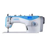 Máquina De Coser Industrial Jack A4 Blanco 220v
