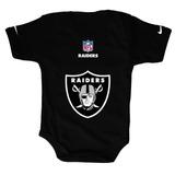Disfraces Para Bebes - Pañalero Raiders Negro Personalizado 876a7bd96582